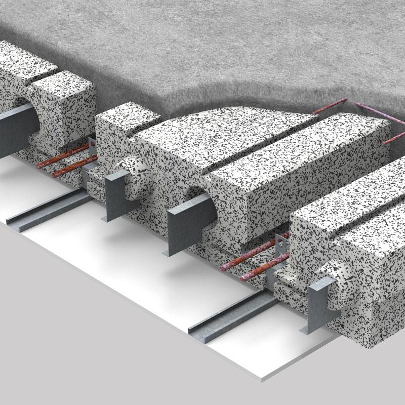 Il solaio Kaldo del Sistema Pontarolo, spaccato dei vari componenti 2