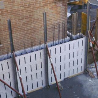 Sistema Pontarolo per il Miglioramento sismico ed energetico sulla parete di una scuola 1