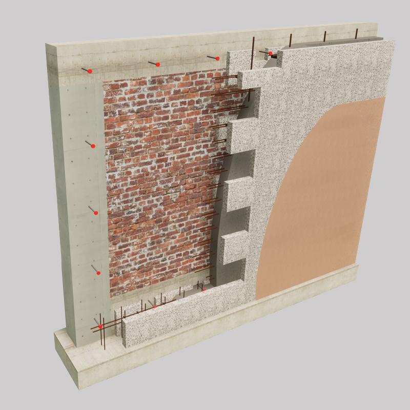 Sistema Pontarolo per il Miglioramento sismico ed energetico