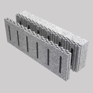 Climablock: cassero a perdere isolanante per pareti in Cemento armato