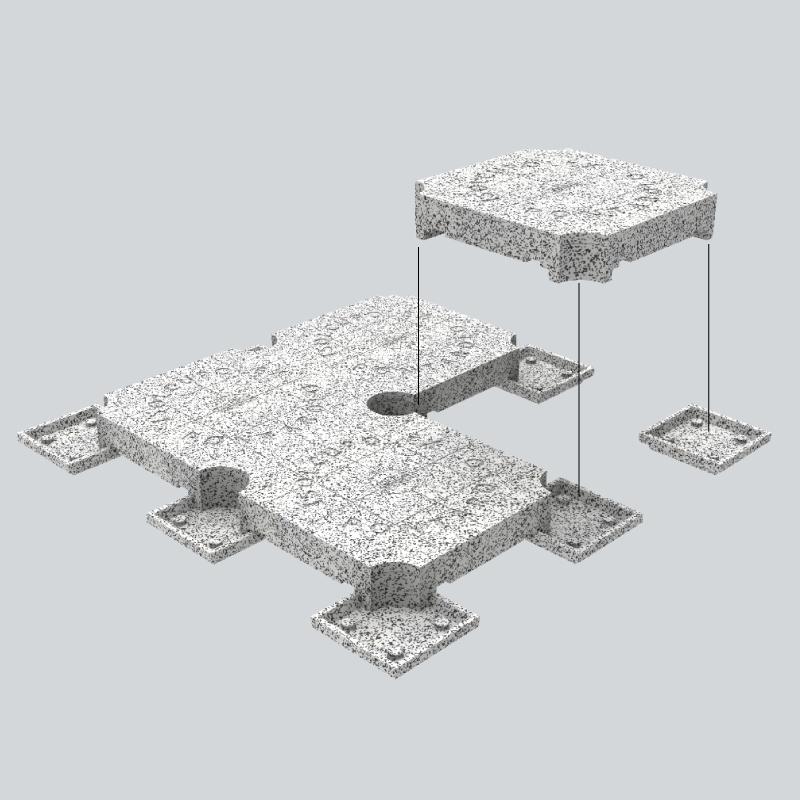 Vespaio isolato Isolcupolex 13,5 cm